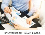 business people discussing...   Shutterstock . vector #612411266