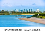 view of downtown san diego from ... | Shutterstock . vector #612465656