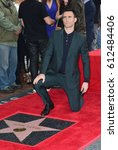 Small photo of LOS ANGELES, CA. February 10, 2017: Singer Adam Levine at the Hollywood Walk of Fame Star Ceremony honoring singer Adam Levine.