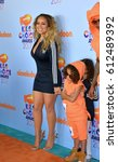 Small photo of LOS ANGELES, CA. March 11, 2017: Singer Mariah Carey at the Nickelodeon 2017 Kids' Choice Awards at the USC's Galen Centre, Los Angeles