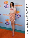 Small photo of LOS ANGELES, CA. March 11, 2017: Singer Noah Cyrus at the Nickelodeon 2017 Kids' Choice Awards at the USC's Galen Centre, Los Angeles