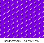 purple pattern with yellow... | Shutterstock .eps vector #612498242
