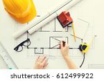 business  architecture ... | Shutterstock . vector #612499922