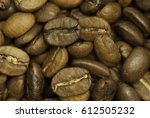 roasted coffee beans i | Shutterstock . vector #612505232
