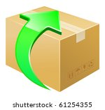 vector illustration of box...