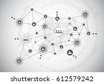 connection technologies for... | Shutterstock .eps vector #612579242