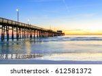 california pier | Shutterstock . vector #612581372