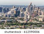 sydney skyline on a beautiful... | Shutterstock . vector #612590006