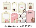 recipe tags   Shutterstock .eps vector #61259533