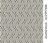 vector seamless pattern. modern ... | Shutterstock .eps vector #612597686
