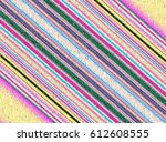 multicolor abstract geometric... | Shutterstock . vector #612608555