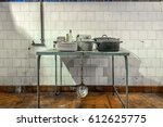 Old Kitchen In An Abandoned...
