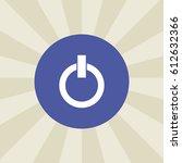 power button icon. sign design. ...