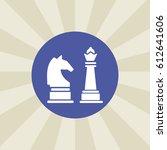 chess icon. sign design....
