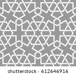 seamless pattern with... | Shutterstock .eps vector #612646916