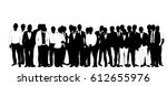 collection of black and white... | Shutterstock .eps vector #612655976