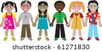 raster version of children from ... | Shutterstock . vector #61271830