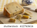 Piece Of Aged Dutch Cheese Wit...