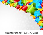 abstract bright background with ...