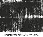 distressed overlay texture of... | Shutterstock .eps vector #612793592