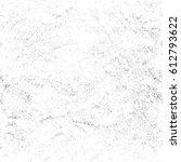 distressed overlay texture of... | Shutterstock .eps vector #612793622