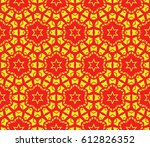 decorative line geometric... | Shutterstock .eps vector #612826352
