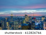 new york   december 20  2013 ... | Shutterstock . vector #612826766