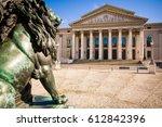 max joseph square  munich ... | Shutterstock . vector #612842396