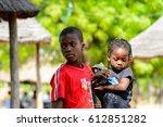 koutammakou  togo   jan 13 ... | Shutterstock . vector #612851282