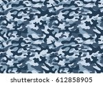 texture military camouflage...   Shutterstock .eps vector #612858905