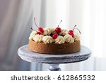 Cheesecake Decorated With...