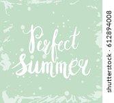 conceptual hand drawn phrase... | Shutterstock .eps vector #612894008