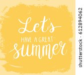 conceptual hand drawn phrase... | Shutterstock .eps vector #612894062