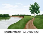vector graphic illustration of... | Shutterstock .eps vector #612909422