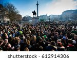 The Crowd At St. Patrick's Day...