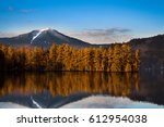 Snowy Whiteface Mountain With...