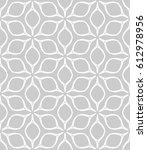 seamless geometric line pattern.... | Shutterstock .eps vector #612978956