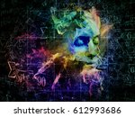 who are we series. abstract... | Shutterstock . vector #612993686