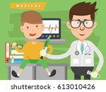 doctor  medical concept design... | Shutterstock .eps vector #613010426