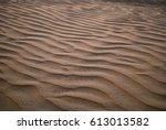 desert sand  | Shutterstock . vector #613013582
