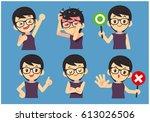 Vector Set Of Eye Glasses Youn...