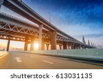 highway bridge | Shutterstock . vector #613031135