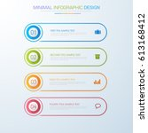 business  infographic  template ... | Shutterstock .eps vector #613168412