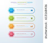 business  infographic  template ... | Shutterstock .eps vector #613168436