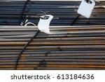onstruction armature | Shutterstock . vector #613184636
