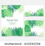 vector illustration of green... | Shutterstock .eps vector #613242236