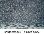 rough brick wall texture... | Shutterstock . vector #613255322