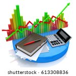 accounting   business... | Shutterstock . vector #613308836