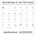 text editing user interface  ui ...