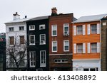 Colorful Row Houses In Mount...